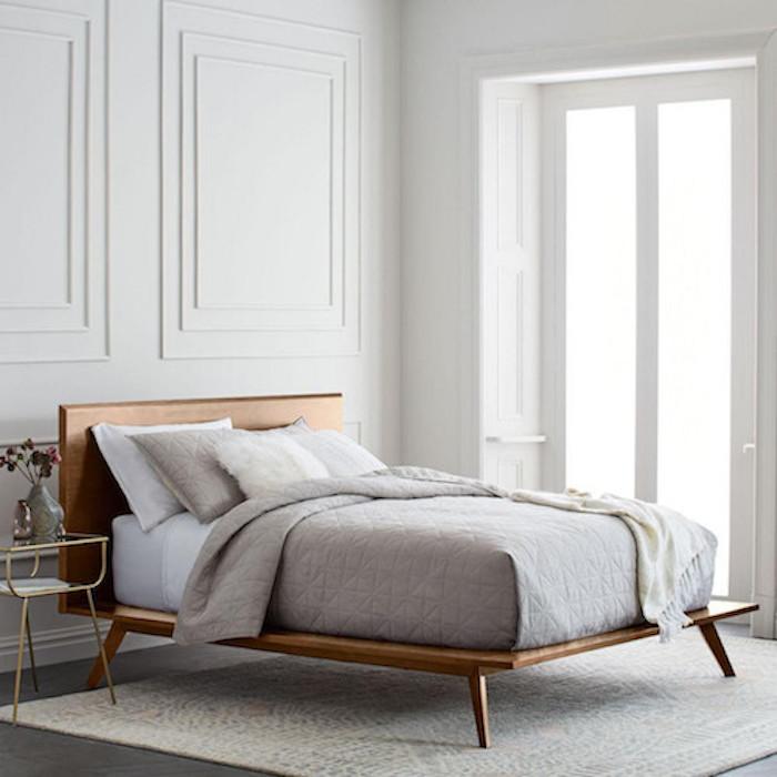 Best King Bed Frame – West Elm Mid-Century Platform Bed