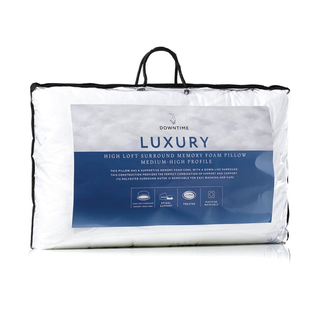 Best Pillows Memory Foam: Adairs Luxury High Loft Surround Memory Foam Pillow