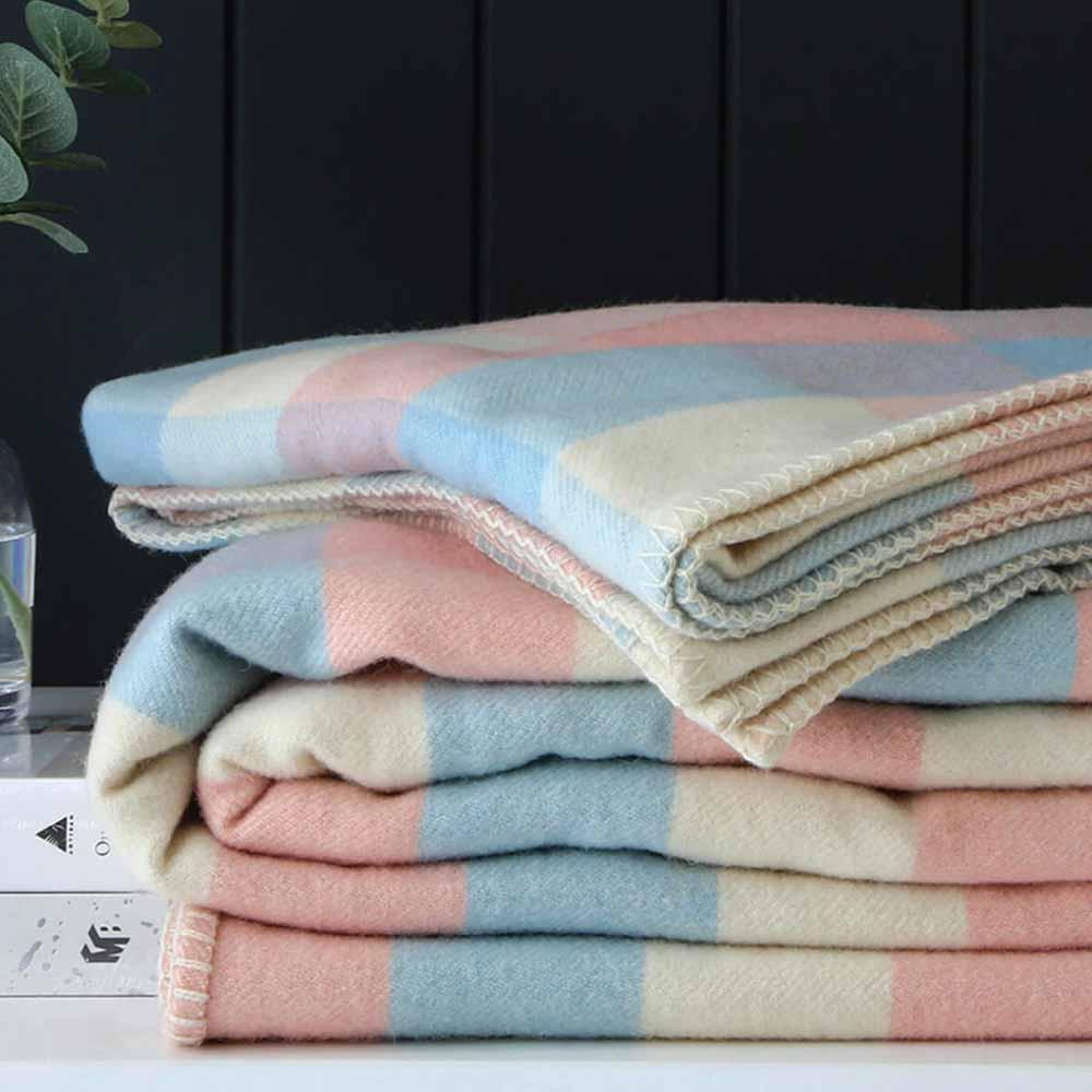 Best Wool Blanket: Pillow Talk Annaliese Wool Blanket