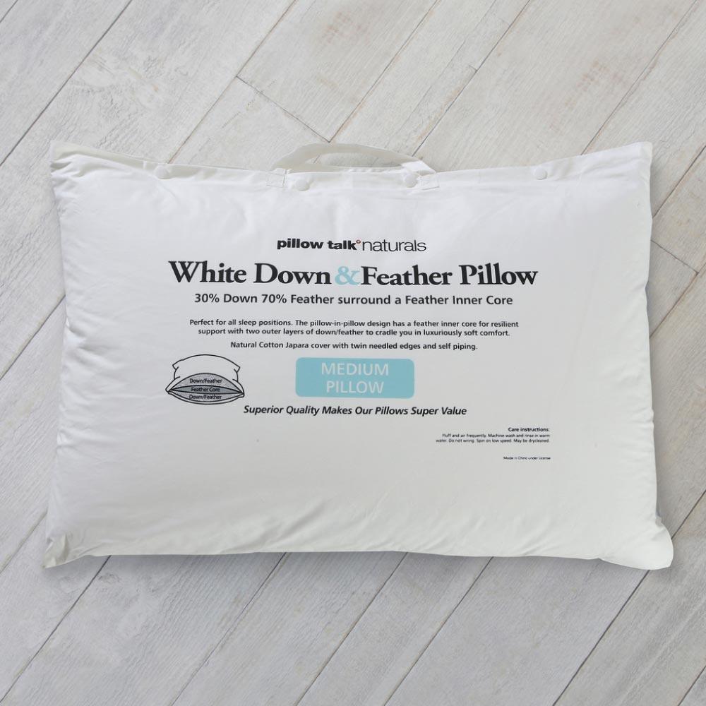 Best Down: Pillow Talk Naturals 30% White Duck Down