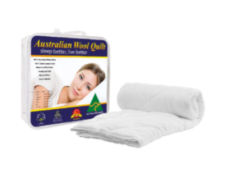 Australian wool quilt