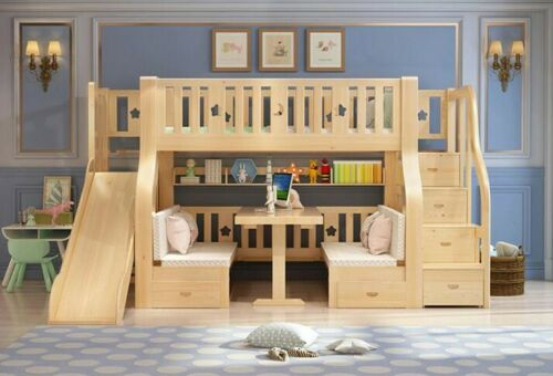 Sttot kids Beds With slides and stairs