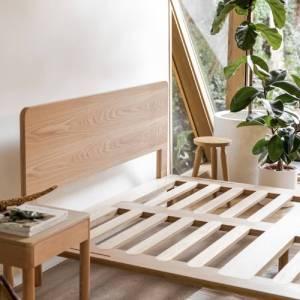 Eva Timber Bed Base