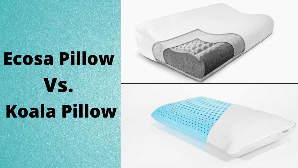 ecosa vs koala pillow